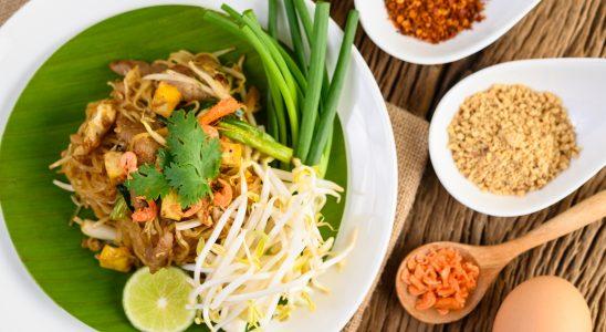nouilles sautées asiatiques